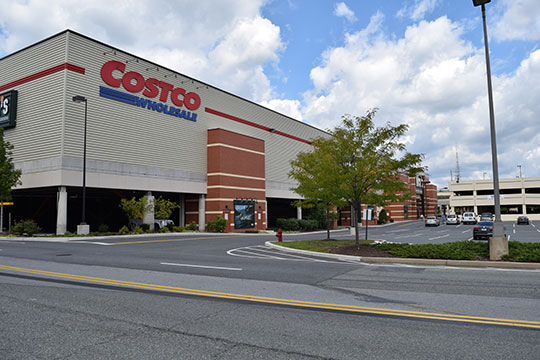 Pro-Pave, Inc.'s paving work at the Costco in Wheaton, Maryland